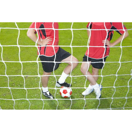 HERCHR Full Size Football Soccer Net Sports Replacement Soccer Goal Post Net for Sports Match Training, Soccer Goal Post, Soccer Post Net ()