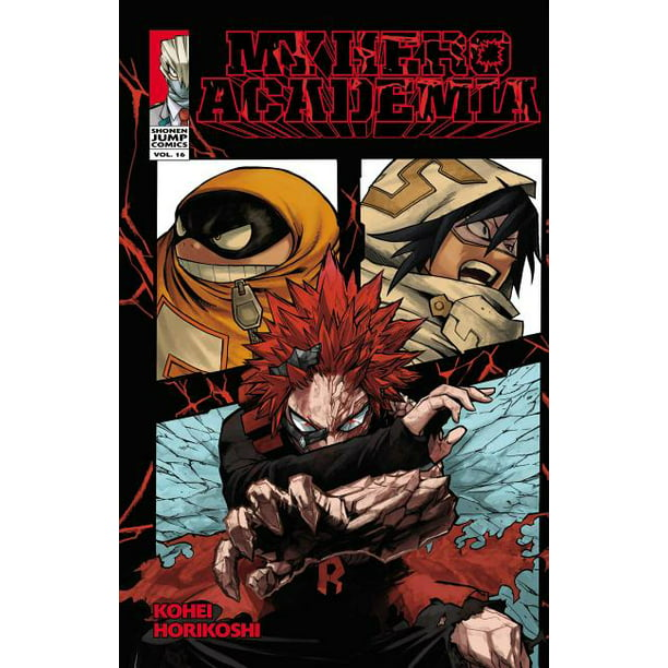 My Hero Academia, Vol. 16 : Red Riot