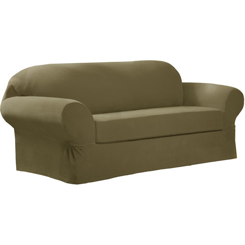Maytex Stretch Collin 2 Piece Loveseat Furniture Cover Slipcover