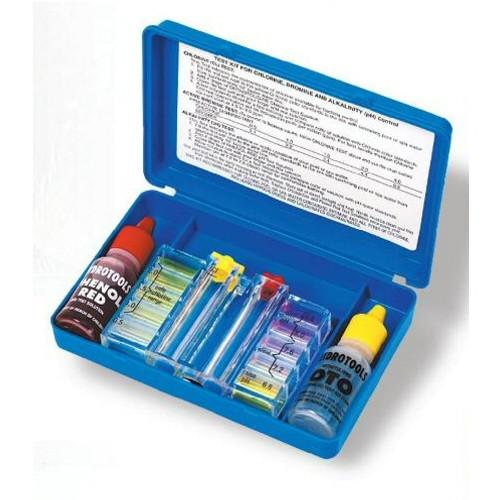 Deluxe 2 Way Swimming Pool Water Test Kit (Deluxe Test Lead Kit)