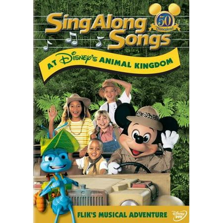 Anime Halloween Songs (Sing Along Songs at Disney's Animal Kingdom: Flik's Musical Adventure)