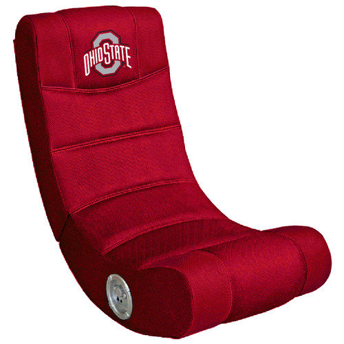 OHIO STATE Buckeyes Video Game Chair with Blue Tooth Walmartcom