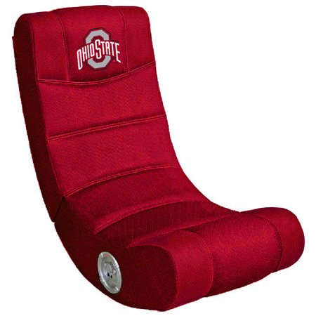 OHIO STATE Buckeyes Video Game Chair with Blue Tooth