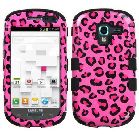 Samsung T599 Galaxy Exhibit MyBat TUFF Hybrid Protector Case, Pink Leopard -