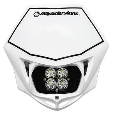 Baja Designs Squadron Sport MC LED Race Light White 557001WT (Led Rave Lights)