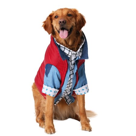 Marty Mcfly Halloween (Marty McFly Dog Costume Back to the)