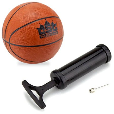Mini Basketball With Needle And Inflation Pump  5 Inch  Made Using The Highest Quality Materials By Crown Sporting Goods