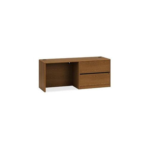 Hon 10700 Series Left Pedestal Credenza With Lateral File...