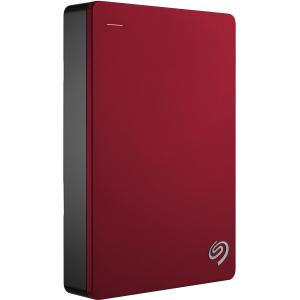 4TB BACKUP PLUS PORTABLE DRIVE RED by SEAGATE - RETAIL
