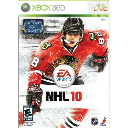 Refurbished NHL 10 For Xbox 360 Hockey