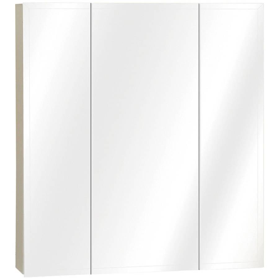 zenith m   x  x  triview mirror medicine  - zenith m   x  x  triview mirror medicine cabinet walmartcom