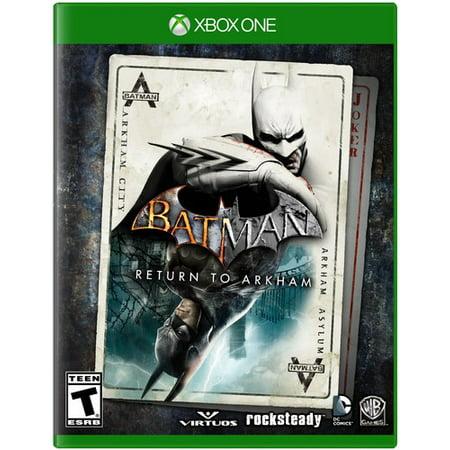 Batman Car Games - Batman Return to Arkham (Xbox One) Warner Bros., 883929543076