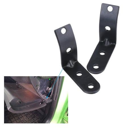 Audi A4 Glove Box - HERCHR Black Glove Box Hinge Repair Kit for Audi A4 S4 RS4 B6 8E 2002-2008, Glove Box Hinge Repair Kit, Hinge Repair Kit