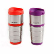 Mr. Coffee Morning Groove 16-Ounce Tumblers, 2-Pack