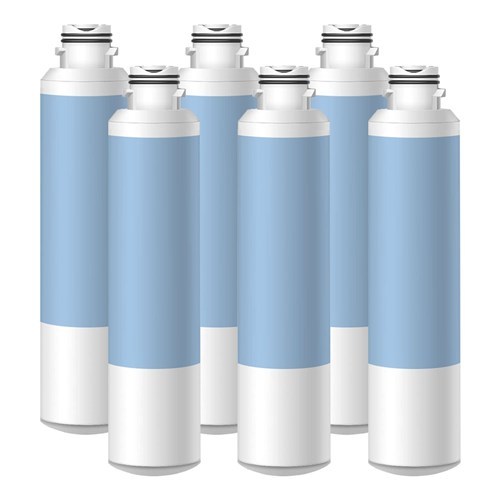 Replacement Water Filter for Samsung RF28HMEDBSR/AA Refrigerators ( 6 Pack )