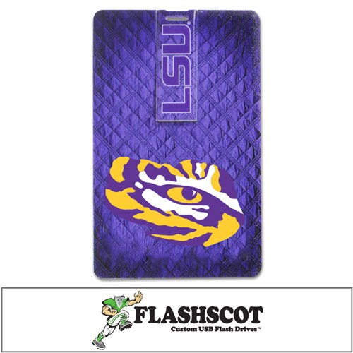 LSU Tigers iCard USB Drive - 8GB