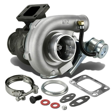 T04E T3/T4 4-Bolt Manifold Flange Stage III Turbocharger with Internal Wastegate Turbine A/R