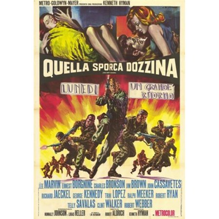 Posterazzi MOV377430 The Dirty Dozen Movie Poster - 11 x 17 in. - image 1 de 1