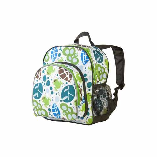 Lily Frogs Pack N Snack Backpack by Wildkin - 40117