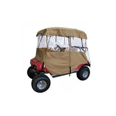 deluxe universal 4 sided driveable golf cart enclosure
