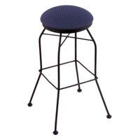 Holland Bar Stool 30 in. Swivel Bar Stool - Black Wrinkle