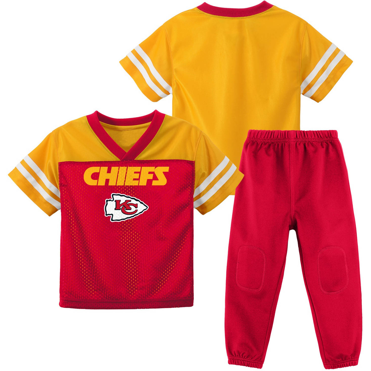 NFL Kansas City Chiefs Toddler Short Sleeve Top and Pant Set