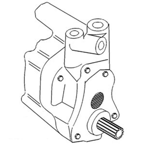 531607M93-E Economy Hydraulic Pump For Massey Ferguson