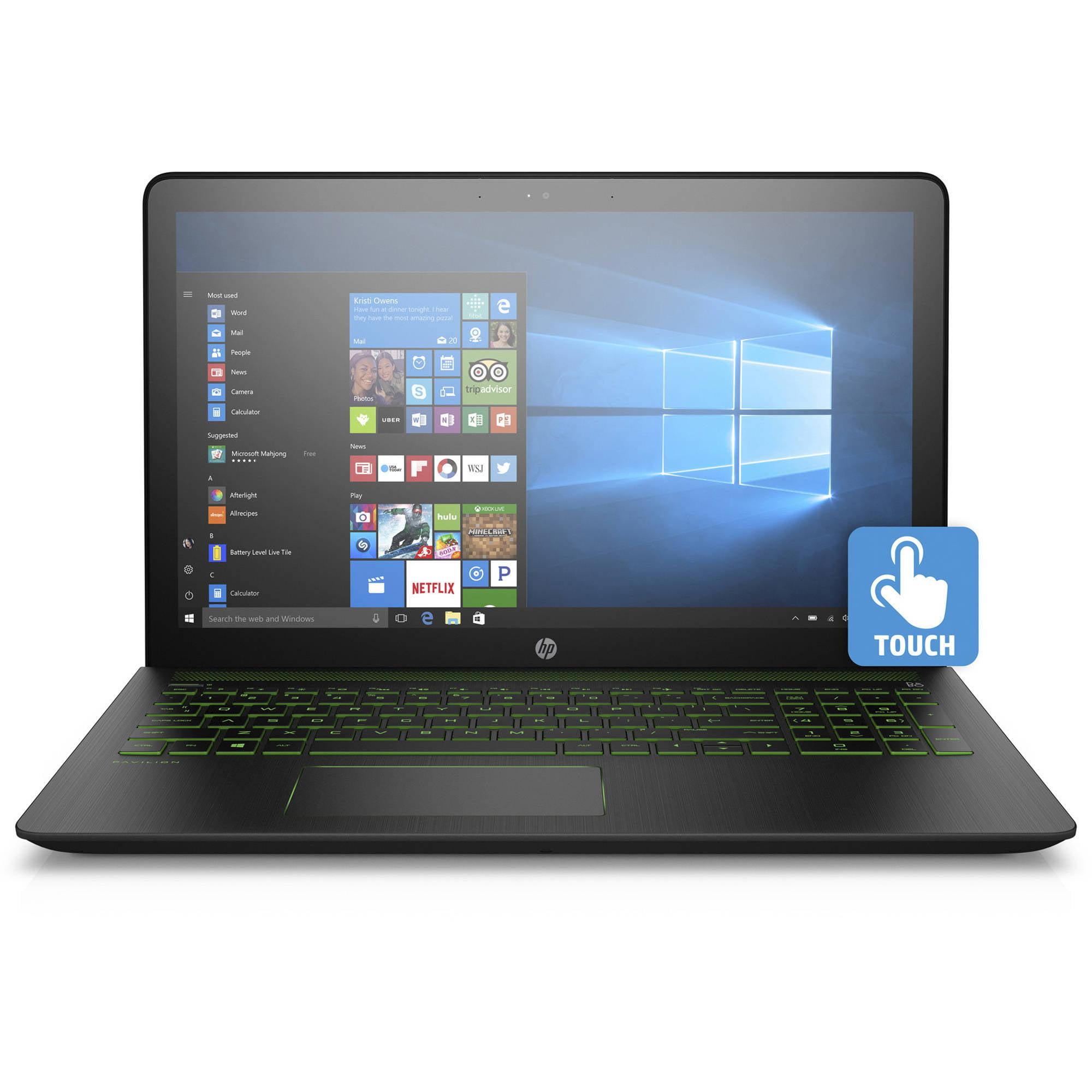 "HP Pavilion Power 15-Cb075Nr 15.6"" Laptop, Touchscreen, Windows 10 Home, Intel Core i5-7300HQ Quad-Core... by HP"