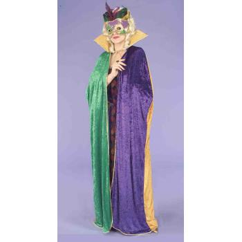 CAPE-MARDI GRAS](Green Cape)