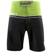 Multi-Purpose Sport Training Shorts - Size 34 - Green/Black