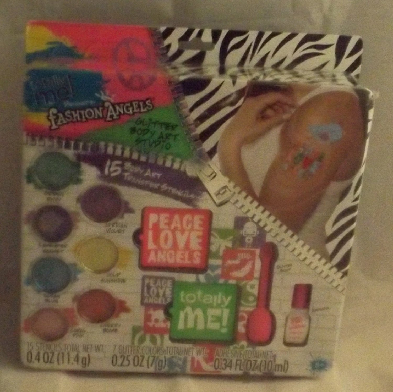 Totally Me! Fashion Angels Glitter Body Art Kit by ToyRus
