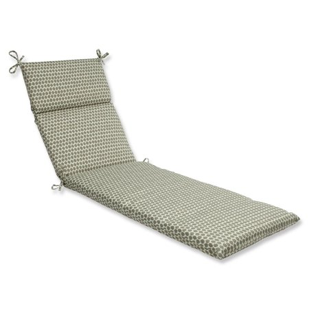 72 5 ruche d 39 abeille taupe and white outdoor patio chaise lounge cu - Chaise abeille transparente ...