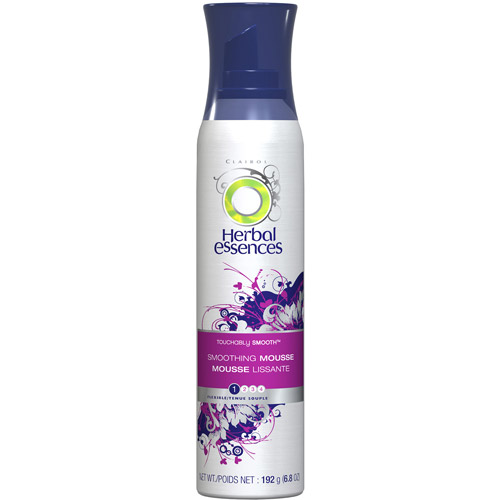 Herbal Essences Touchably Smooth Smoothing Mousse, 6.8 oz