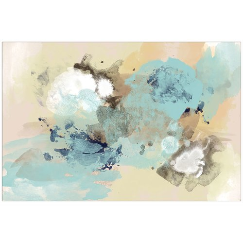 PTM Images Blue Sky Abstract Inverse Gicl e Framed Painting Print