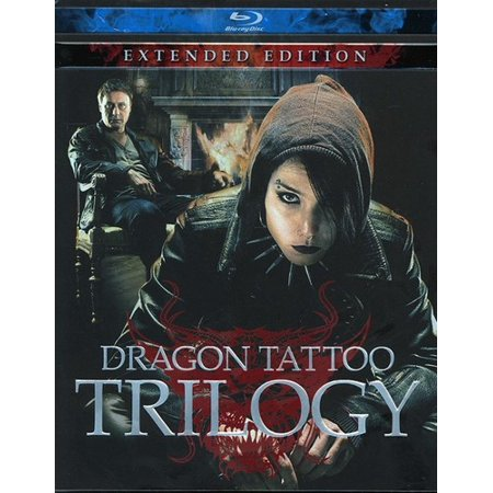 The Dragon Tattoo Trilogy  Extended Edition  Blu Ray   Swedish   Widescreen