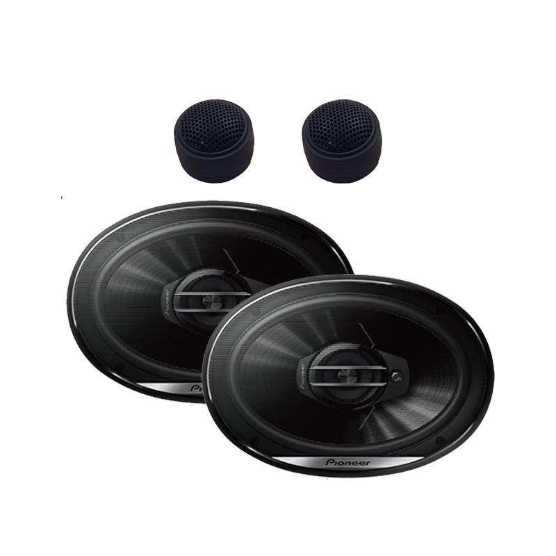 """Pioneer TS-G6930F 6x9"""" 3-Way 400 Watts Coaxial Speakers W/ FREE pair Tweeters"""