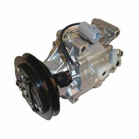 6A671-97210 New Air Compressor w/ Clutch Made for Kubota