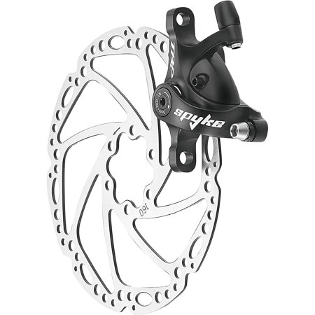 BRAKE DISC MECH ROAD FR/RR NO ROTOR BLK TRP SPYKE