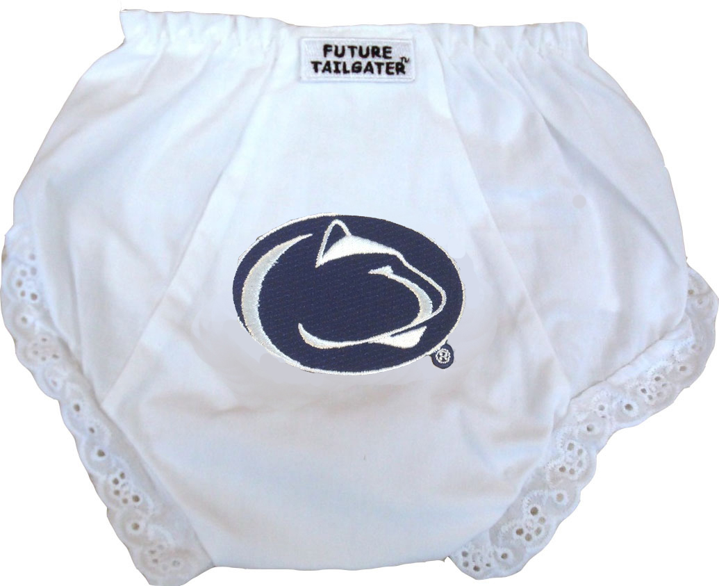 Penn State Nittany Lions Eyelet Baby Diaper Cover by Future Tailgater