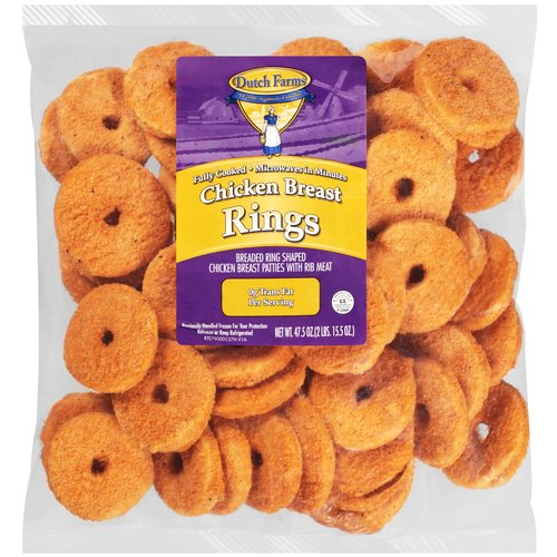 Dutch Farms Chicken Breast Rings, 47.5 oz