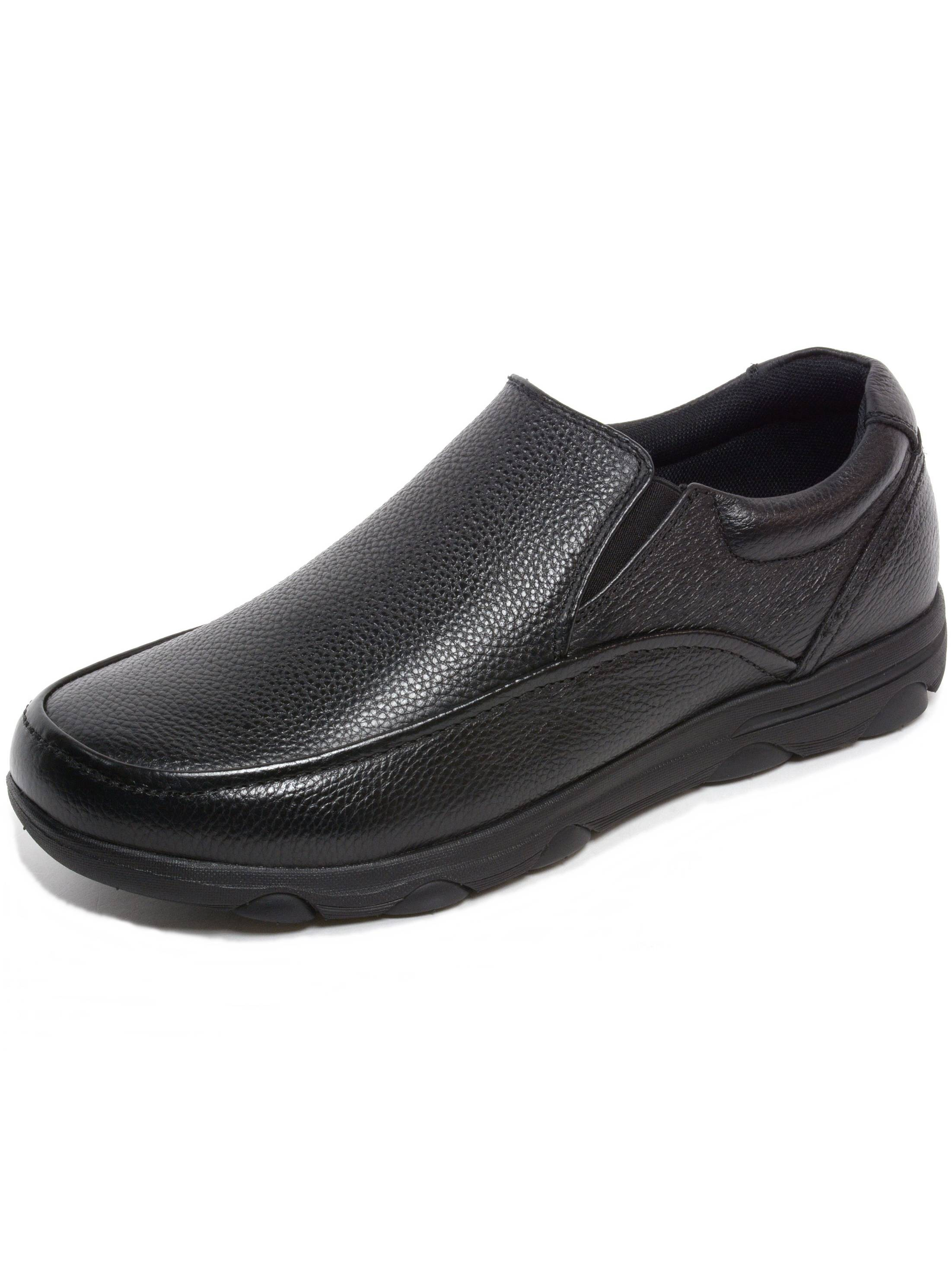c1ab946fa71 alpine swiss - Alpine Swiss Arbete Mens Work Shoes Slip Resistant Real  Leather Slip-On Loafers - Walmart.com
