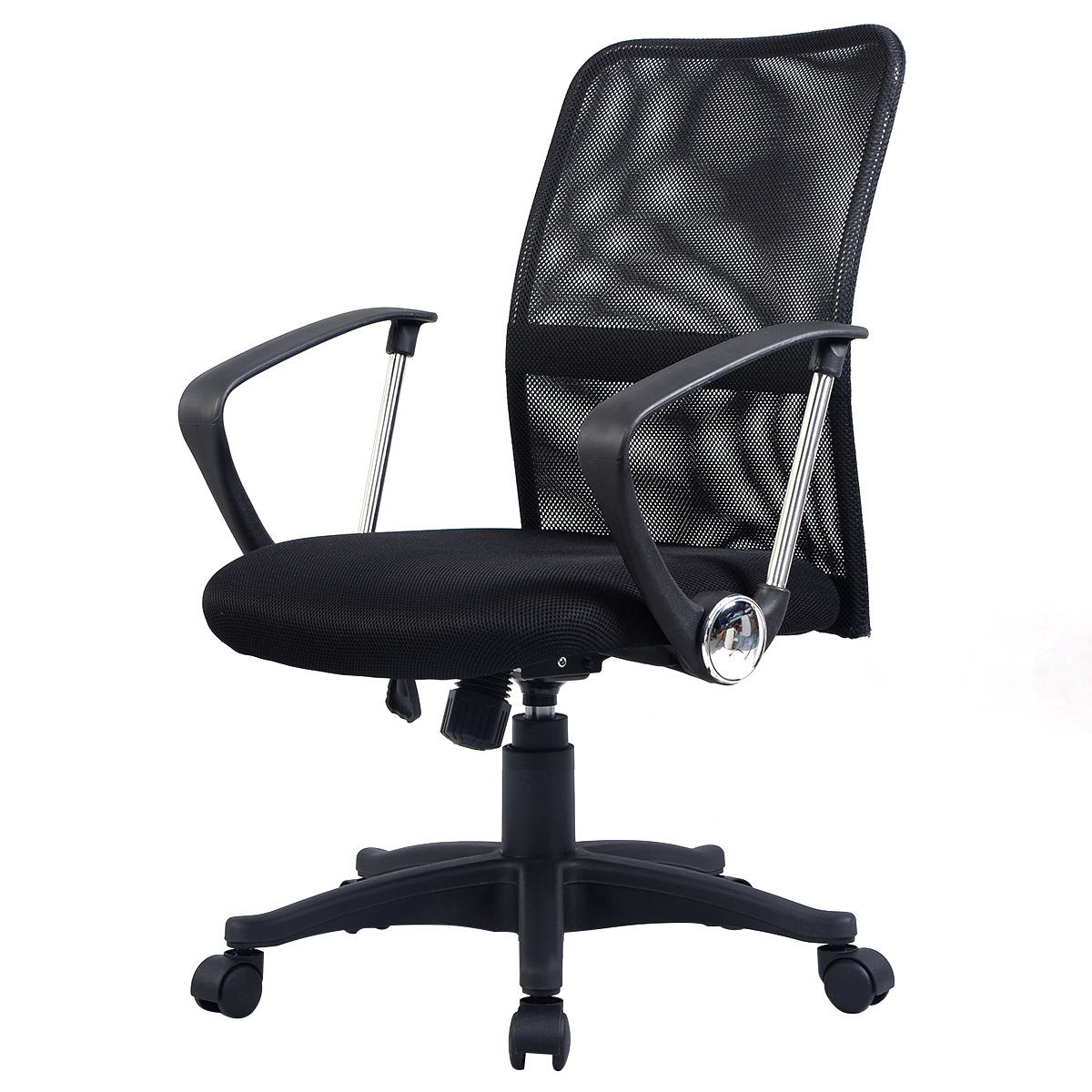 Costway Modern Ergonomic Mesh Mid Back Executive Computer Desk Task Office  Chair