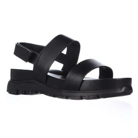 cf6c08dd7ab Cole Haan - Womens Cole Haan Zerogrand Slide Platform Sandals - Black -  Walmart.com