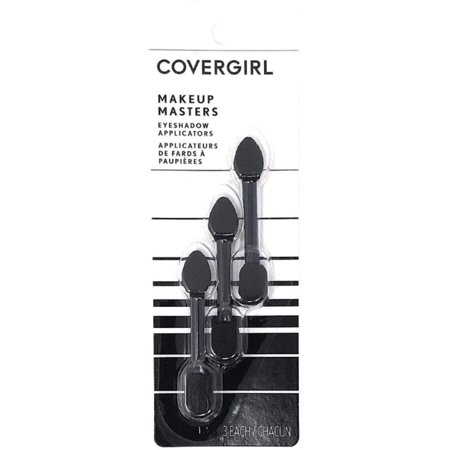4 Pack - CoverGirl Makeup Masters Eyeshadow Applicators 3 ea