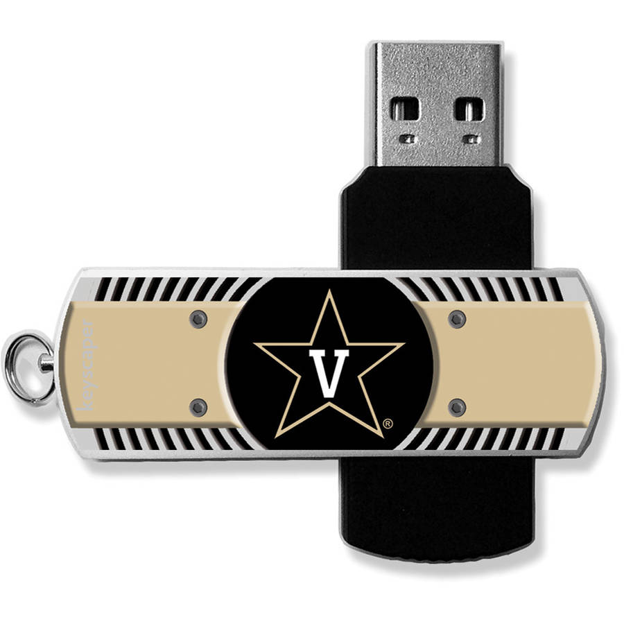 Vanderbilt Commodores USB 8GB Flash Drive