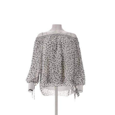 Daisy Fuentes Printed Woven Top 595-659