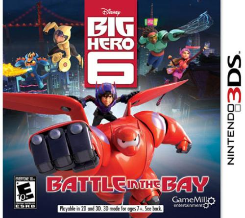 Big Hero 6, Game Mill Entertainment, Nintendo 3DS, 834656090241