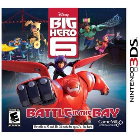 Big Hero 6, Game Mill, Nintendo 3DS, 834656090241 (Top 10 Best 3ds Games)