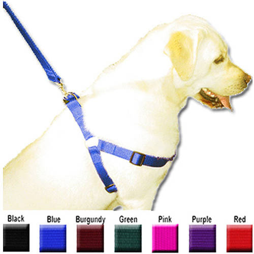 Majestic Pet 25'' - 40'' Adjustable Step In Harness in Multiple Colors Fits Most 100-200 lbs Dog