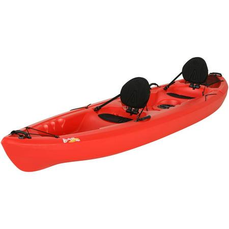 Lifetime 12 Beacon Sit On Top Tandem Kayak  Red  90620